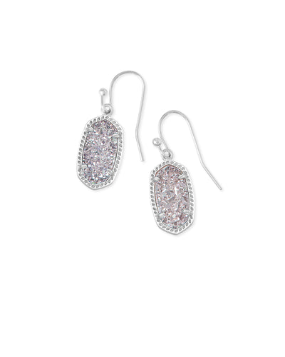 LEE Drop Earrings - RHODIUM