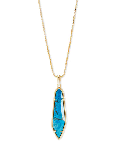 Kendra Scott Cassidy Gold Pendant Necklace