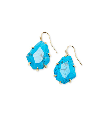 Kendra Scott Rosenell Gold Drop Earrings