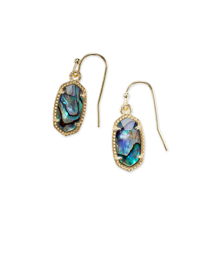 Kendra Scott Lee Drop Earrings In Abalone Shell
