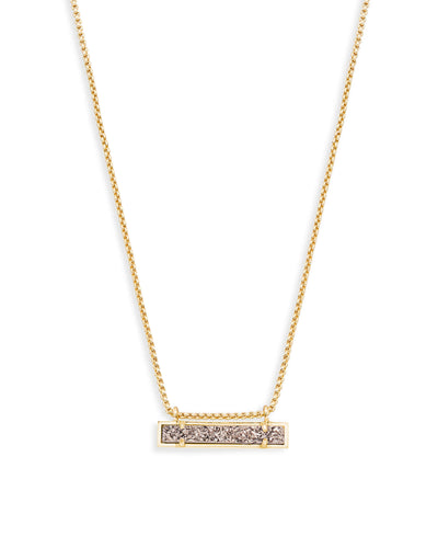 Kendra Scott Leanor Gold Bar Pendant Necklace