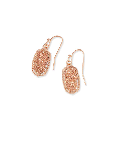 LEE Drop Earrings - ROSE GOLD