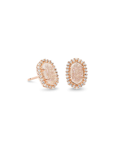 CADE EARRINGS - ROSE GOLD
