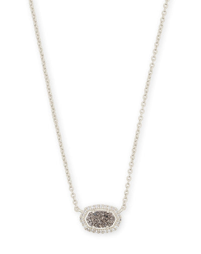 CHELSEA NECKLACE - RHODIUM