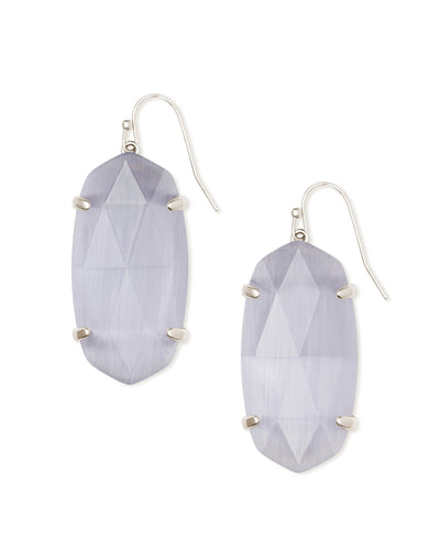 ESME EARRINGS - Rhodium