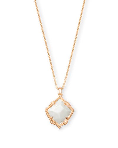 KACEY NECKLACE - ROSE GOLD