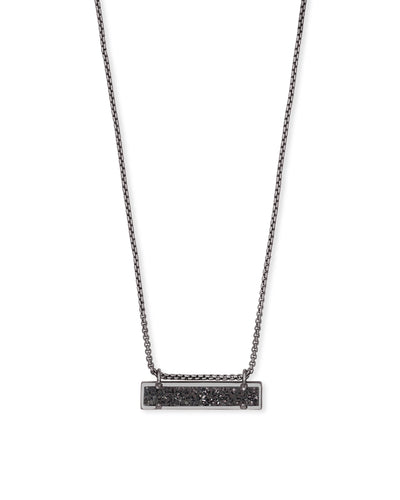 LEANOR NECKLACE - GUNMETAL