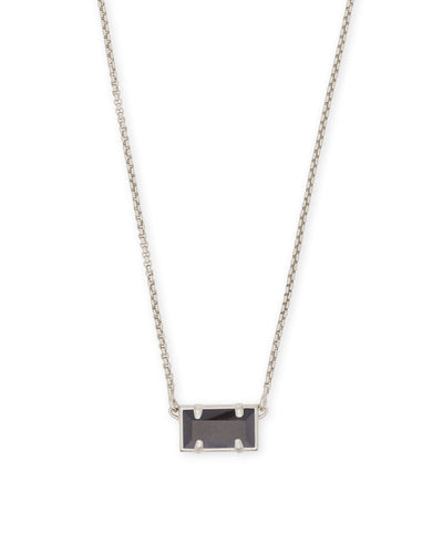 PATTIE NECKLACE - RHODIUM