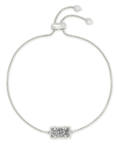 PHILLIPA BRACELET - RHODIUM