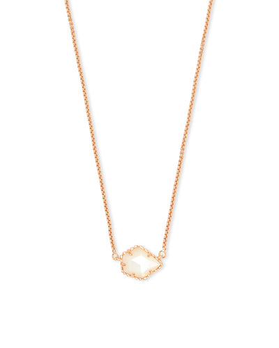 TESS NECKLACE - ROSE GOLD