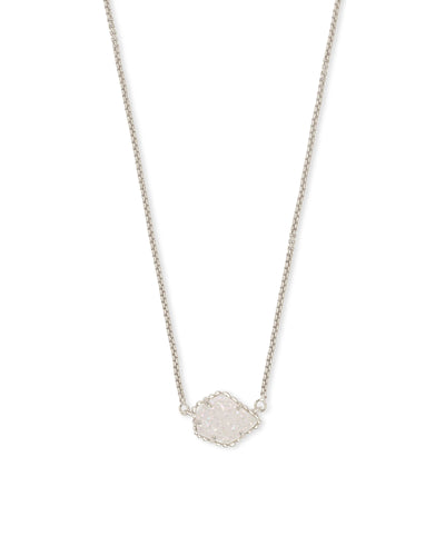 TESS NECKLACE - RHODIUM