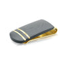 ITALGEM STEEL GOLD-IP BLACK-CARBON MOKUNE-DESIGN MONEY-CLIP