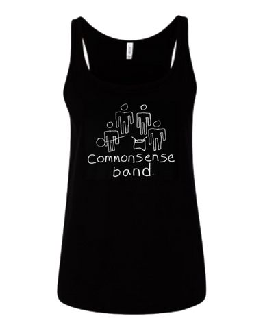 Isaiah's Common Sense Band Women's Tank