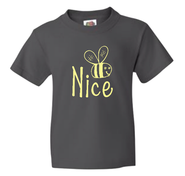 Xavier's 'Nice' Kid's Shirt