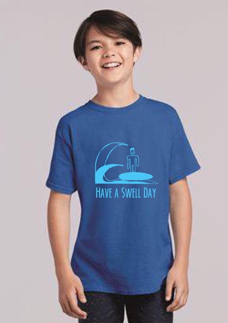 Isaiah's 'Swell Day' Kids Shirt
