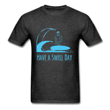 Isaiah's 'Swell' Shirt - heather black
