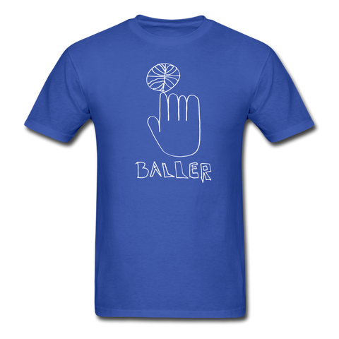 Ali's 'Baller' Shirt - royal blue