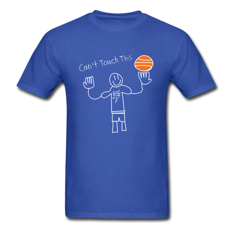 Ali's 'Cant Touch This' Shirt - royal blue