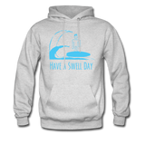 Isaiah's 'Swell' Hoodie - ash