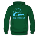 Isaiah's 'Swell' Hoodie - forest green
