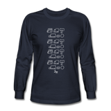 Ali's 'Trucks' Long Sleeve Shirt - navy