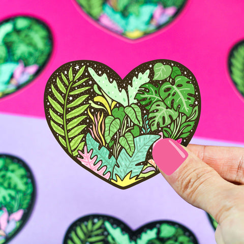 Tropical Love Vinyl Sticker