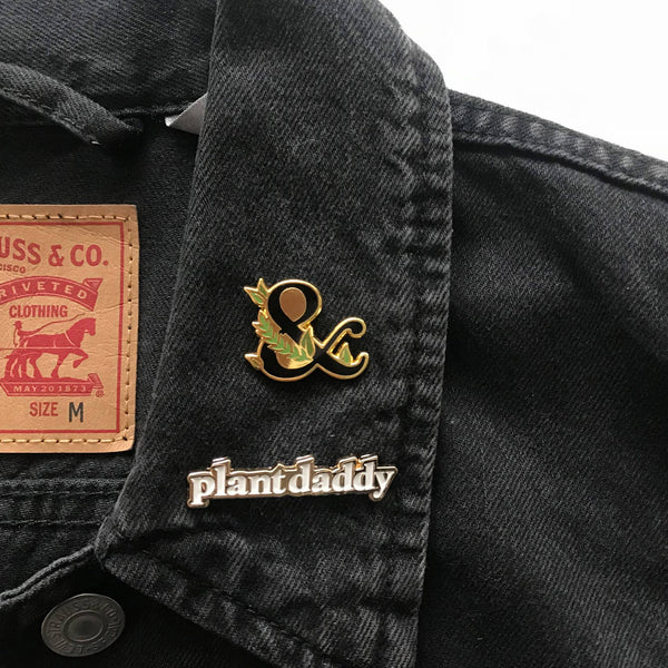 Plant Daddy Enamel Pin