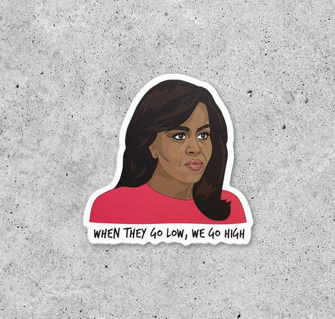 Michelle Obama Sticker