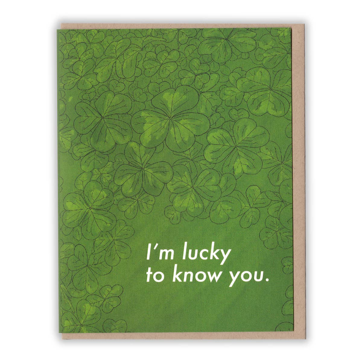 Lucky to Know You Card
