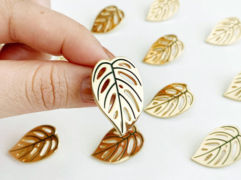 Monstera Adansonii Enamel Pin