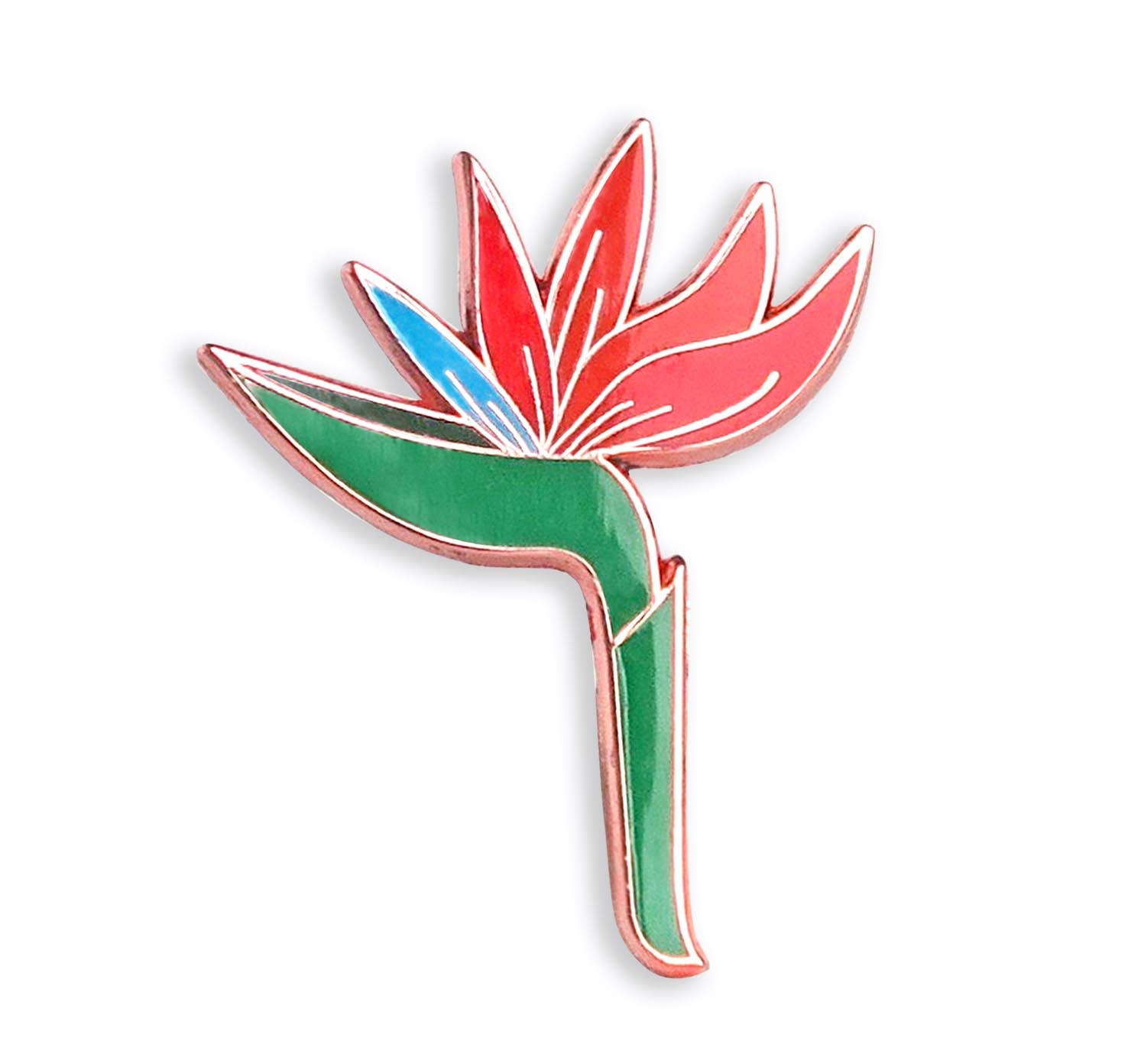 Bird of Paradise Enamel Pin