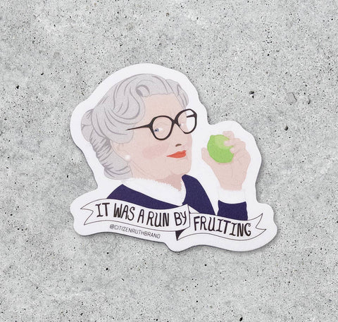 Mrs. Doubtfire Sticker