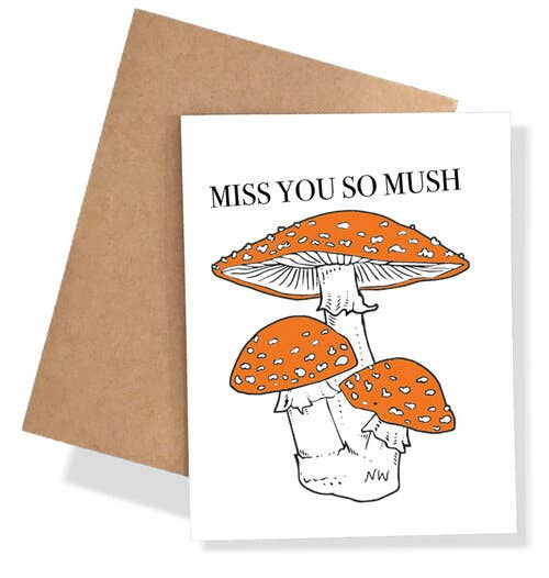 Miss You So Mush Card