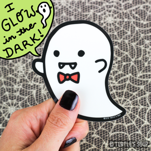 Fancy Ghost Sticker