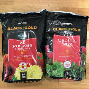 Black Gold 8qt Soil