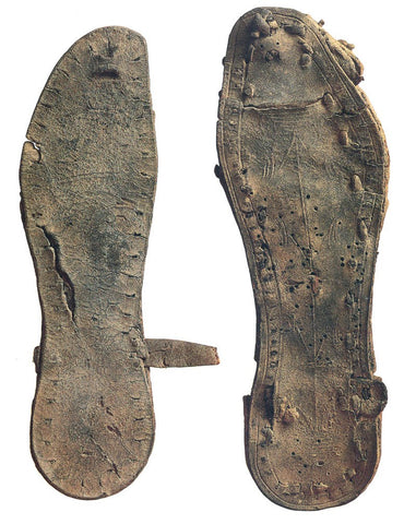 Ancient Biblical Jesus sandals