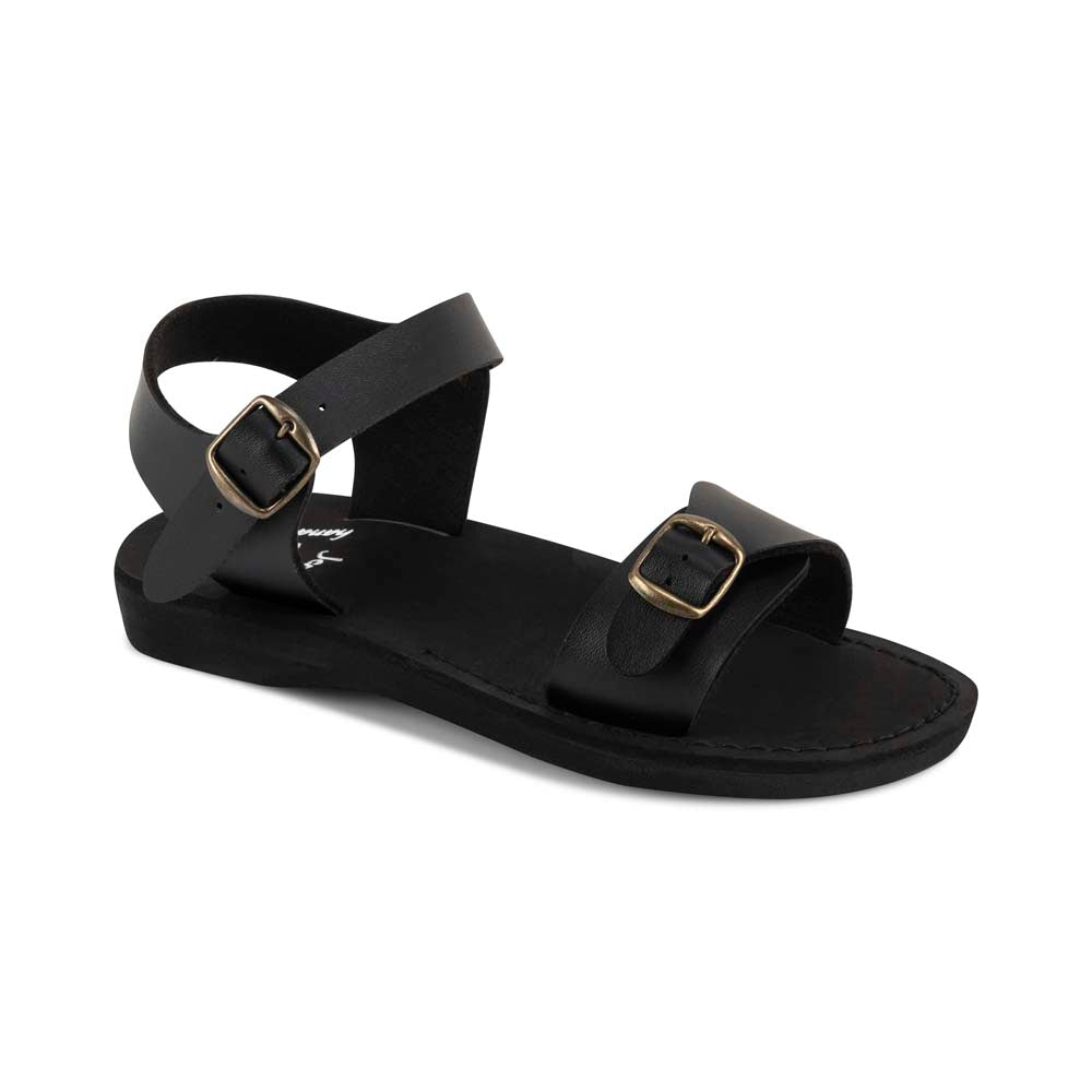 The Original - Vegan leather Sandal | Black front view