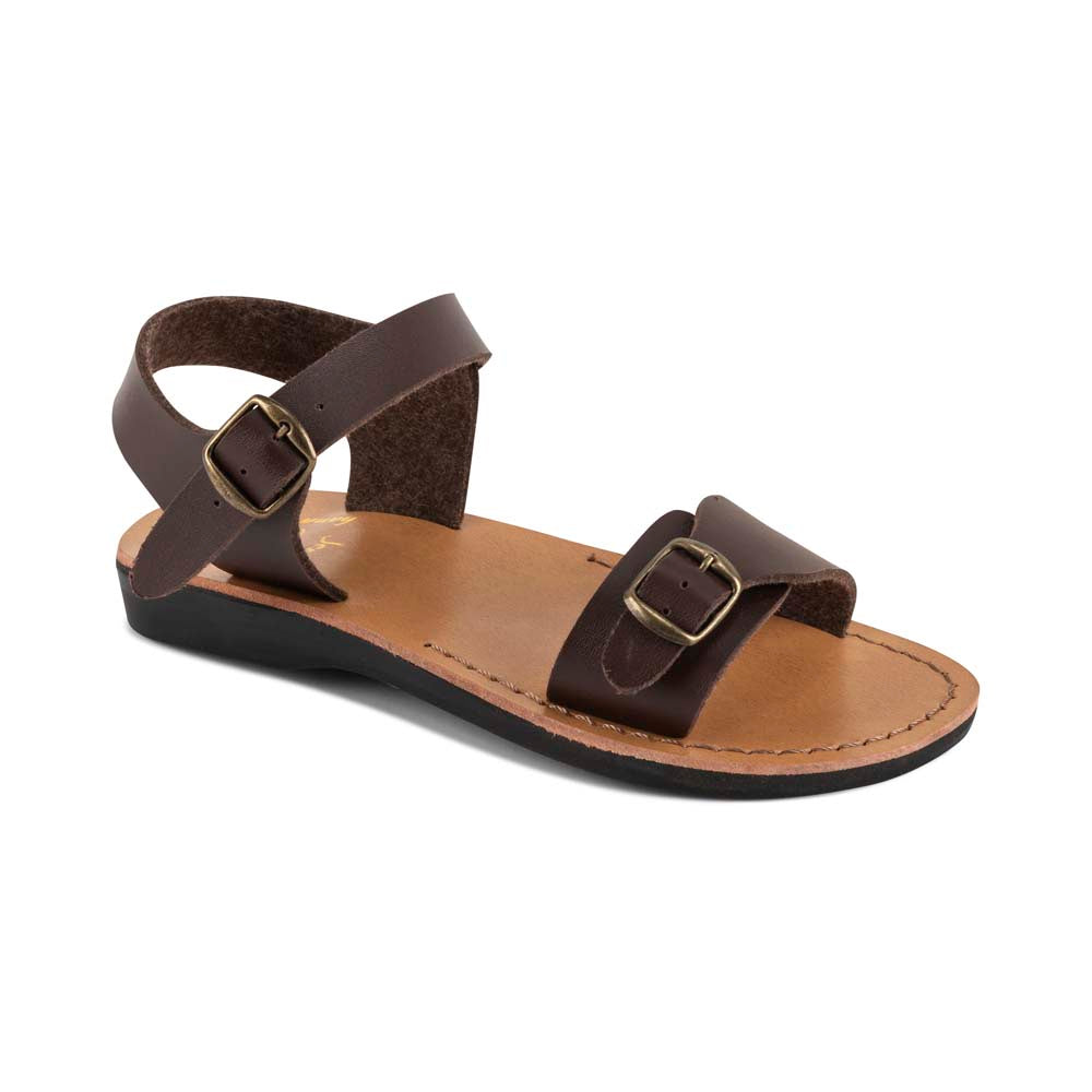 The Original - Vegan leather Sandal | Brown front view