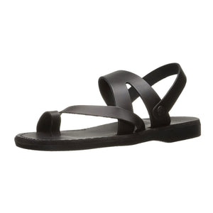 Benjamin - Leather Slingback Sandal | Black