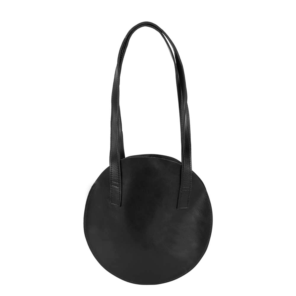 Cool Round Small Bag | Black