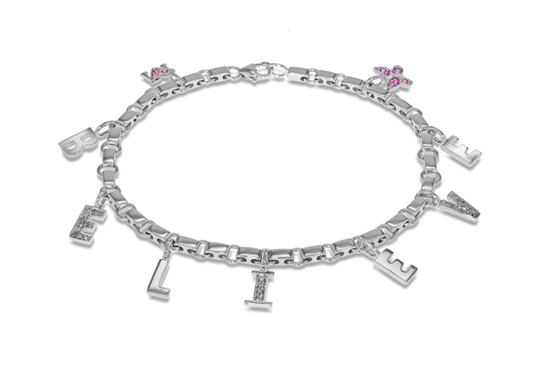 Diamonds Believe Bracelet