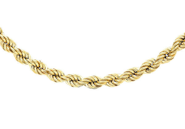 "9ct Yellow Gold 90 Rope Chain 71m/28""9"