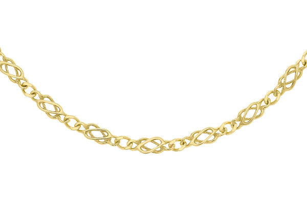 9ct Yellow Gold 70 Celtic Chain