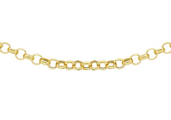 9ct Yellow Gold 80 Round Belcher Chain