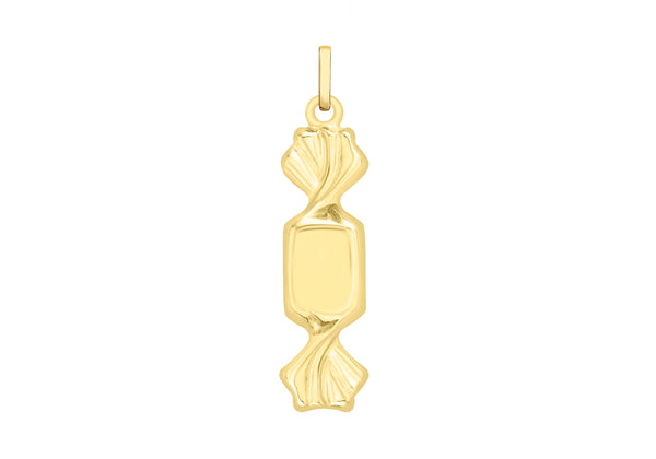 9ct Yellow Gold Toffee Pendant