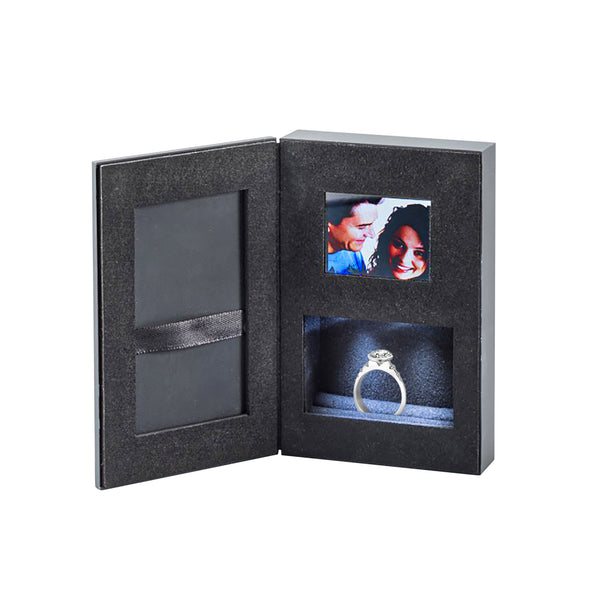 Harper Kendall Luxury Book Style Video Message Ring Box9