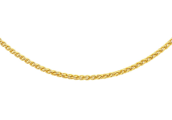 "18ct Yellow Gold Spiga Chain 41m/16""9"