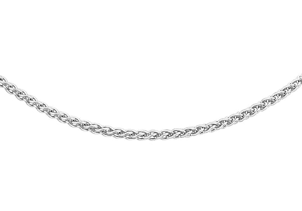 "18ct White Gold Spiga Chain 41m/16""9"