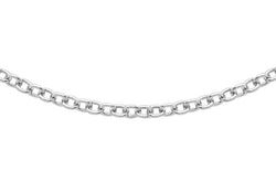 "18ct White Gold 40 Trace Chain 41m/16""9"