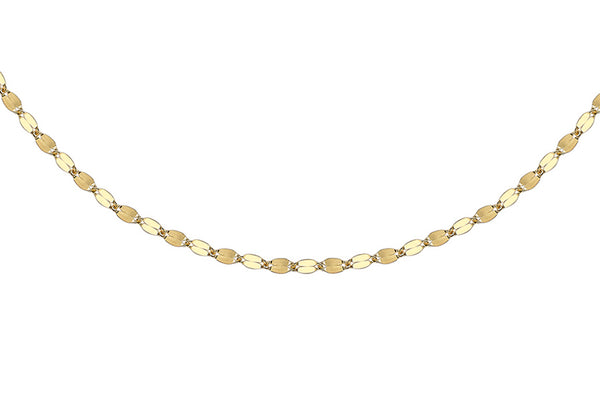 "18ct Yellow Gold 1.9mm Forzatina Chain 46m/18""9"